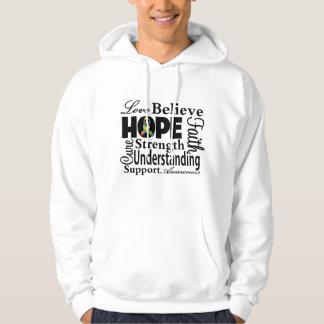 Autism Collage of Hope Hooded Sweatshirt