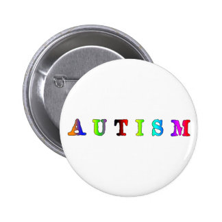 Autism Colorful Pins