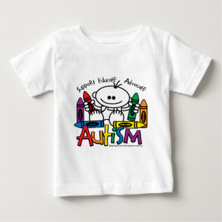 Autism Crayons Baby T-Shirt