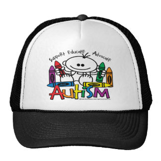 Autism Crayons Hats