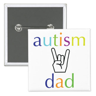 autism dad buttons
