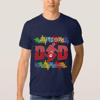 Autism Dad - I Love My Child Shirt
