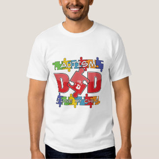 Autism Dad - I Love My Child T-Shirt