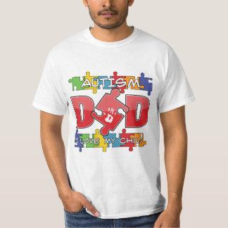 Autism Dad - I Love My Child Tee Shirt