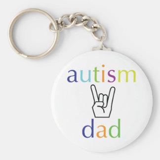 Autism Dad Keychain