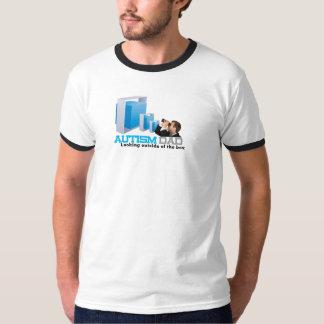 Autism Dad Ringer T-Shirt