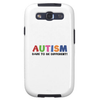Autism - Dare To Be Different Galaxy SIII Covers