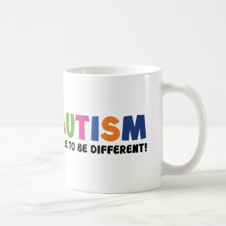 Autism - Dare To Be Different Coffee Mug