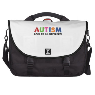 Autism - Dare To Be Different Commuter Bag