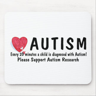 Autism Diagnosed Every 20 Minutes Mouse Pad