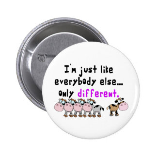Autism Different Pinback Button