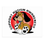 Autism Dog Postcard