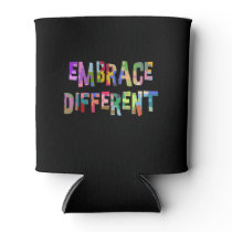 Autism Drink Cooler Awareness Embrace Different
