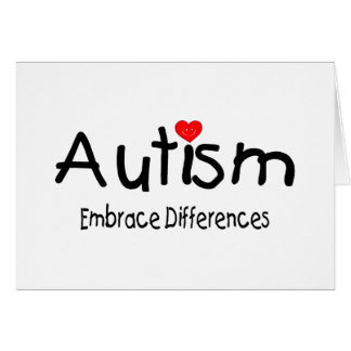 Autism, Embrace Differences Card
