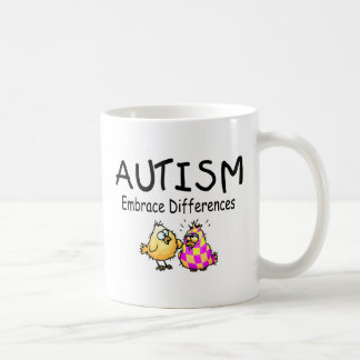 Autism Embrace Differences Coffee Mug