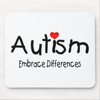 Autism Embrace Differences Mouse Pad