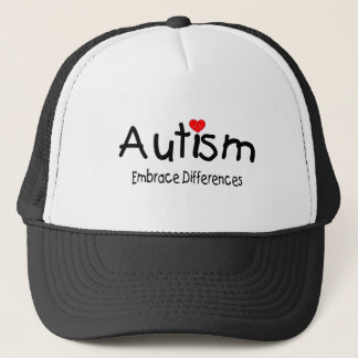 Autism, Embrace Differences Trucker Hat