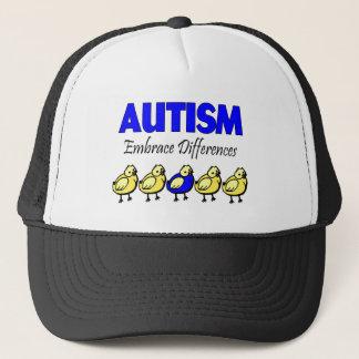 Autism Embrace Differences Trucker Hat