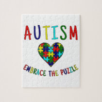 Autism Embrace The Puzzle