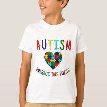 Autism Embrace The Puzzle T-Shirt