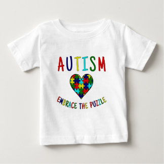Autism Embrace The Puzzle Tee Shirts