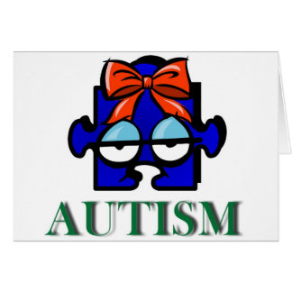 Autism Face Card