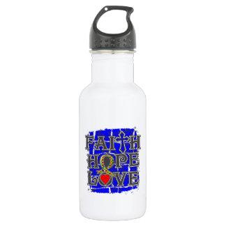 Autism Faith Hope Love Water Bottle