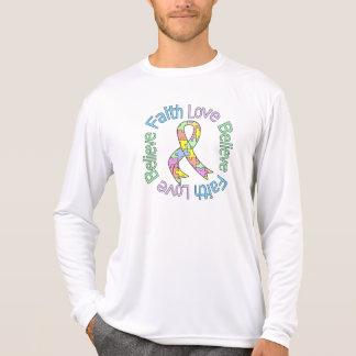 Autism Faith Love Believe Shirt