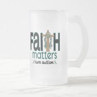 Autism Faith Matters Cross 1 Mug