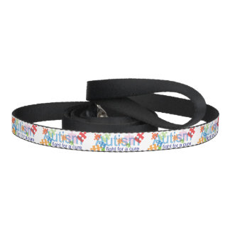 Autism Fight for a cure dog leash