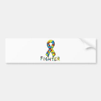 Autism Fighter Bumper Sticker