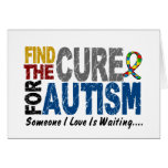 AUTISM Find The Cure 1 Greeting Card