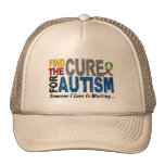 AUTISM Find The Cure 1 Mesh Hat