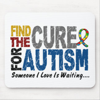 AUTISM Find The Cure 1 Mouse Mat