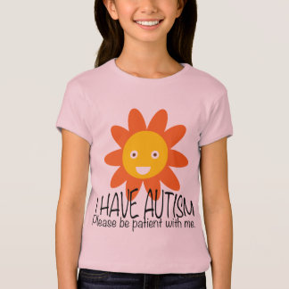 Autism Flower Girl T-Shirt