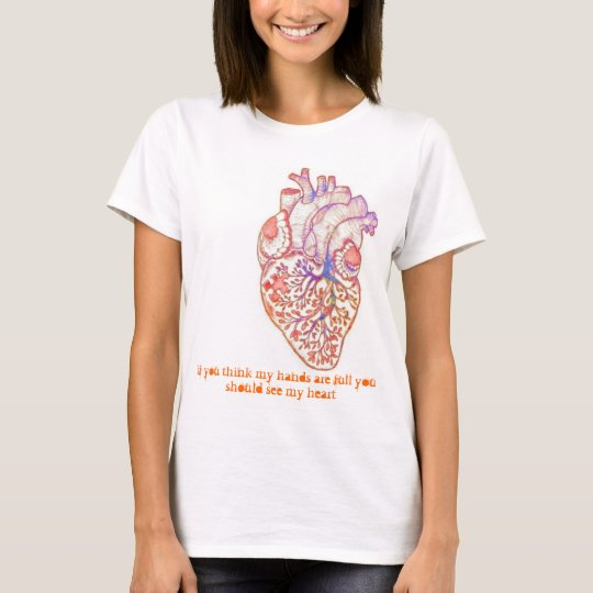 Autism - Full hands and heart T-Shirt