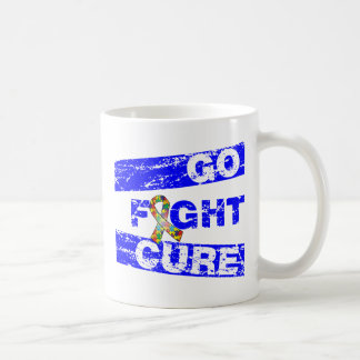Autism Go Fight Cure Mugs