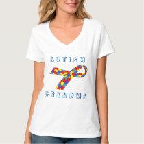 Autism Grandma Colors T-Shirt