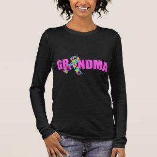 Autism Grandma Long Sleeve T-Shirt