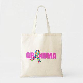 Autism Grandma Tote Bag