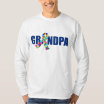 Autism Grandpa T-Shirt
