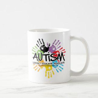 Autism Handprint Coffee Mug