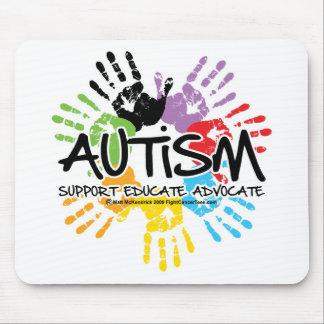 Autism Handprint Mousepad