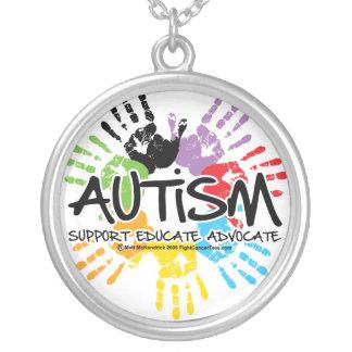 Autism Handprint Pendants