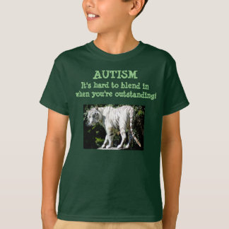 Autism - Hard to blend in when you're outstanding T-Shirt