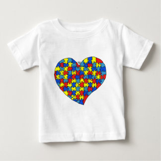 Autism Heart Baby T-Shirt