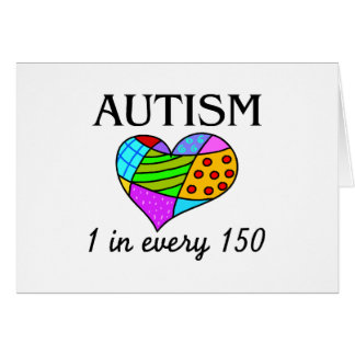 Autism Heart Card