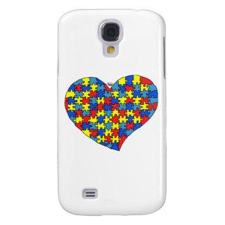 Autism Heart Galaxy S4 Case