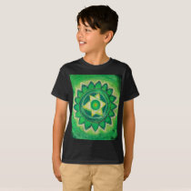 Autism Heart Chakra Spiritual Art T-Shirt
