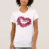 autism heart, If you think my hands are full, y... T-Shirt